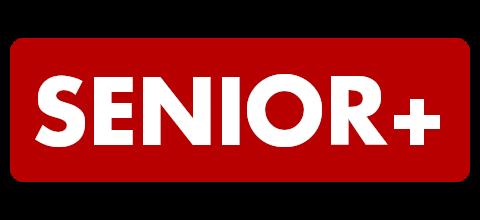 Napis Senior+. Nowa Szkoła